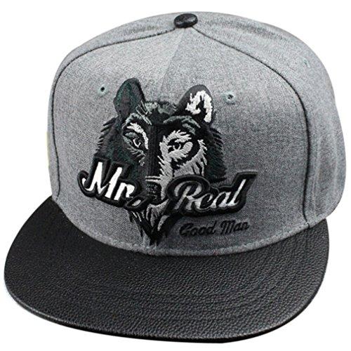 Belsen neutral Wolf Kopf Hip-Hop Cap Baseball Kappe Hut Truckers Hat (Erwachsene)