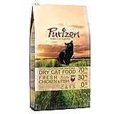 Purizon Premium Trockenfutter für Katzen mit Huhn & Fisch (6,5kg)