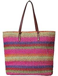 LAAT Drawstring Bags Bolsa de Hombro Verano Playa Bolsa Cesta Shopper Bolso Bolso De Playa De