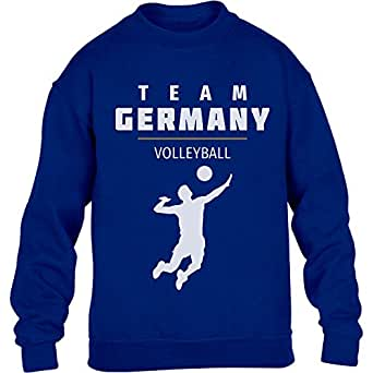 Team Germany Männer Volleyball Fanartikel Rio Youth Kids Sweatshirt