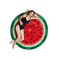 Il nuovo Gigantic Watermelon Beach Blanket spiaggia è ampia 5 piedi, permette di assorbire un po 'di luce solare o usarlo come un asciugamano e asciutto dopo un tuffo veloce. Mettetelo tra te e la madre terra e salverai il tuo corpo prezioso ...
