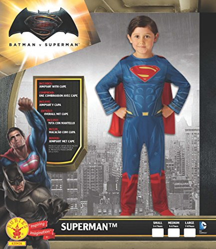 Imagen de batman v superman  dawn of justice, disfraz para niños, talla m rubie's spain 620426  alternativa