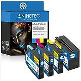 Farbset 4X Original NINETEC NT-4H950/951XL Tintenpatronen Kompatibel zu HP 950XL 951XL