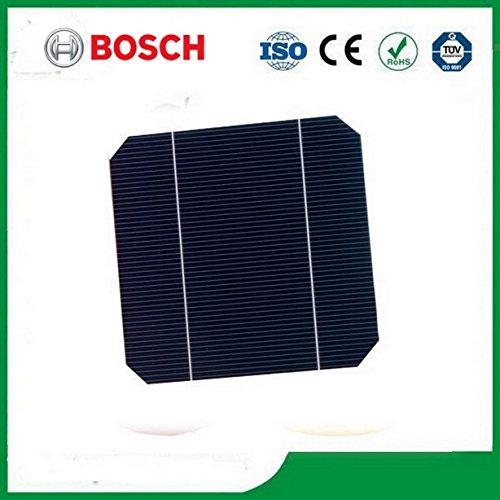 MISOL 500 pcs of Mono Solar Cell 5x5 2.8w, GRADE A, monocrystalline cell, DIY solar panel, for DIY solar module/cellules solaires monocristallines Pour Panneau solaire/module solaire