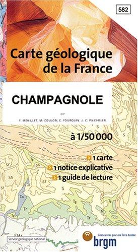 Carte géologique : Champagnole