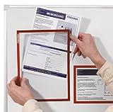 Franken ITSA4S 12 Dokumentenhalter DIN A4 (selbstklebend 0.32 mm) grau