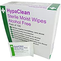 Safety First Aid d5201Hypaclean Sterile Feuchttücher, Set von 100 preisvergleich bei billige-tabletten.eu