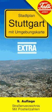 Falk Pläne, Stuttgart (Falk Stadtplan Extra Standardfaltung - Deutschland)