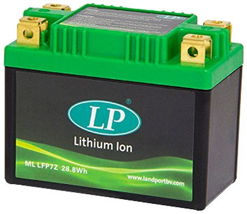Accossato ML LFP7Z-345 Batteria al Litio per Kawasaki Eliminator, 125, (1997-1998)