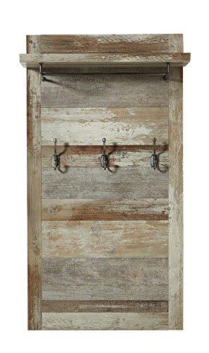 Stella Trading BZDD643041 Driftwood Kleiderhaken, Holz, braun, 67 x 123 x 28 cm