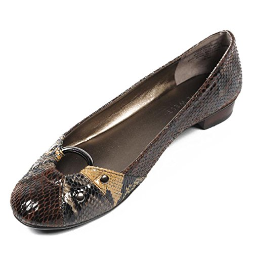 NINE WEST - Ballerine Donna NWLIGHTNING BROWN MULTI Tacco: 2 cm Multicolore