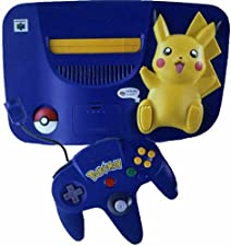 Console N64 Pikachu