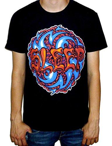 Sleep - Logo T-shirt Schwarz