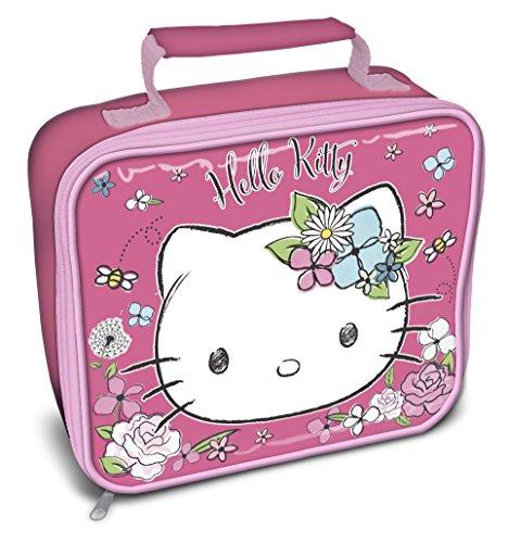 Kinder Mädchen Lunch-Bag mit Hello Kitty Design (Einheitsgröße) (Rosa/Weiß) (Kitty Snacks Hello)