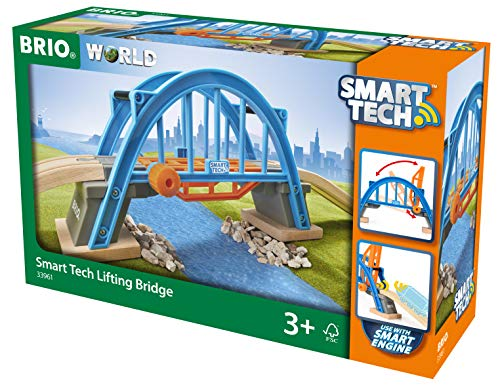 Brio World Pont Levant Smart Tech, 33961, Bleu E Orange