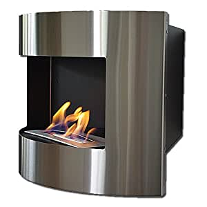 bio ethanol kamin diana deluxe eckkamin edelstahl dekofeuer reg brenner k che. Black Bedroom Furniture Sets. Home Design Ideas