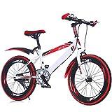 XWDQ Mountain Bike per Bambini 20 Pollici velocità Mountain Bike Studente Bicicletta Pieghevole Bici Bicicletta Singola velocità,Singlespeed