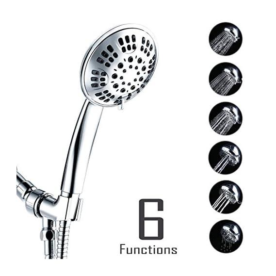 ALTON SHR20700 ABS 6 Flow Rain & Massage Flow Hand Shower (Chrome)