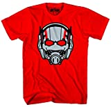 Marvel Ant-Man Ant Head Mens Red T-Shirt | 2XL