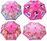 #10: Funny Teddy Umbrella for Kids - for Girls ( 1pc ) | Printed Cartoon Characters | High Quality