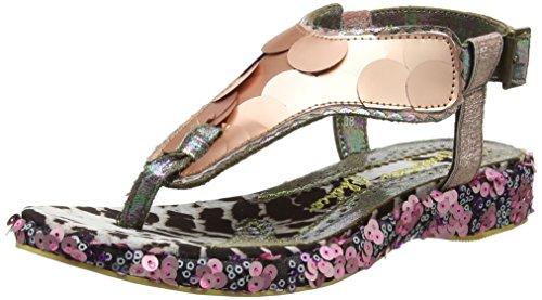 Irregular Choice Cocoa Loco, Scarpe Col Tacco con Cinturino a T Donna Pink (Pink)