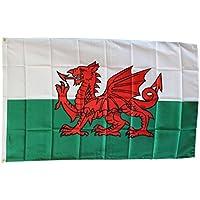 De la bandera de Gales 3 x 5 nuevo 3 x 5 Diseño de Dragón Galés de la bandera de