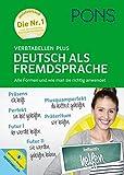 PONS Verbtabellen Plus Deutsch als Fremdsprache - Alle Formen und wie man sie richtig anwendet