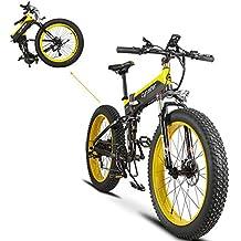 Plegable eléctrico Cruiser Bike extrbici T750 500 W 48 V 10 Ah oculta recargable grasa bicicleta montaña playa nieve bicicleta Full Suspensión 7 velocidades ...