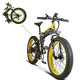 Faltendes Electric Fahrrad XF690 500W-volle Suspendierung 7 beschleunigt
