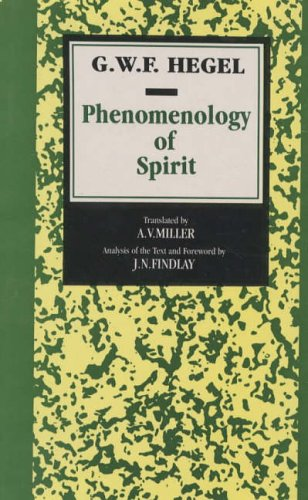 Price comparison product image Phenomenology of Spirit