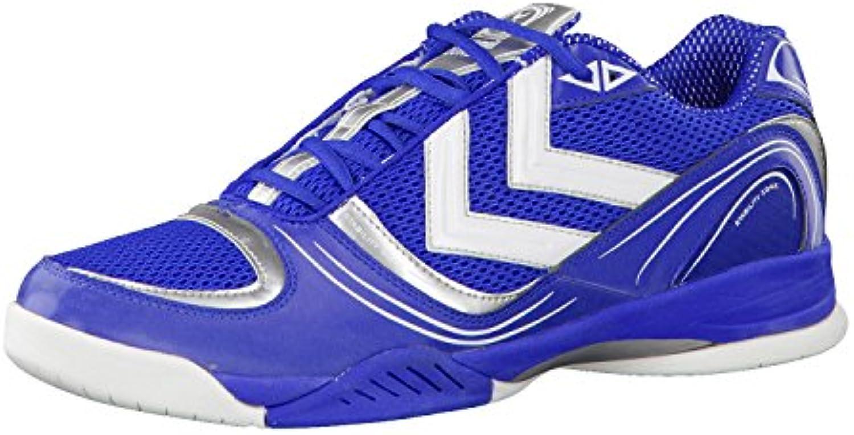 Mr.   Ms. Hummel scarpe da ginnastica ginnastica ginnastica uomo Blu bianco 48.5 promozioni Re della quantità Imballaggio elegante e stabile | Buy Speciale  1622b7