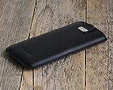HTC Case Leder Hülle Tasche Etui Cover personalisiert durch Prägung mit ihrem Namen, Monogramm, für Bolt One X10 10 A9s S9 X9 A9 M9 M8 M8s E8 Desire 626 825 630 530 Prime Camera Pro Lifestyle