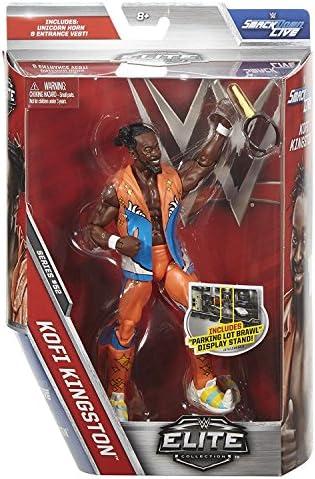 WWE Mattel Elite Série 52 FIGURINE CATCHEUR - kofi kofi kofi kingston  ew jour avec accessoires pour figurine jouet | La Qualité Primacy  c5aec6