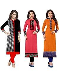 Kurti For Womens Rensila ( Kurti For Women Latest Design Party Wear Kurti For Girls Stylish Kurtis For Girls New... - B07CK6736N