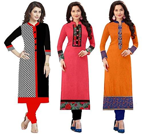 Kurti for womens Rensila ( kurti for women latest design party wear kurti for girls stylish kurtis for girls new style kurti under 300 kurti for womens under 300 kurti and palazzo set kurti anarkali f