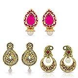 Designer Gold Plated Beautiful Earrings ...