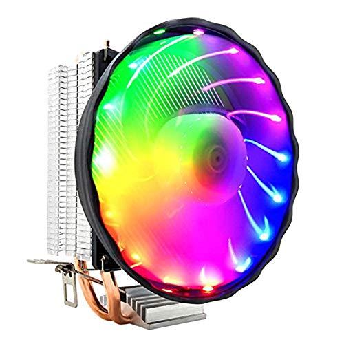 Sortim Desktop PC CPU Fan Bronze Tube Heat Dissipation Stumm Abnehmbar Ausstrahlenden Lüfter Neu