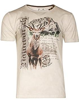 Michaelax-Fashion-Trade Marjo - Herren Trachten T-Shirt, M14 Burschi (621100-020040)