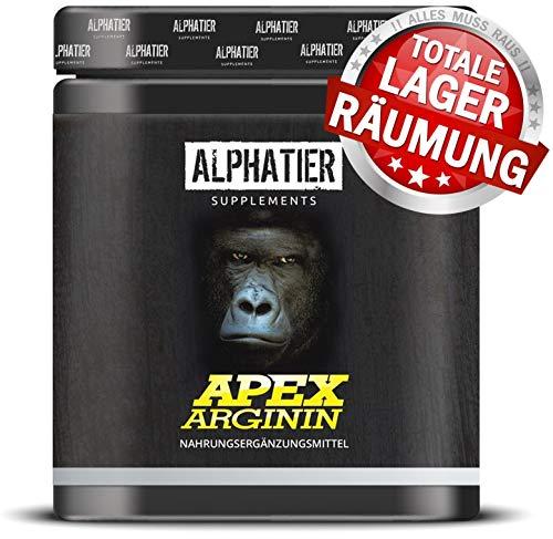 L-ARGININ BASE Kapseln hochdosiert - 99{9d2609645cd6562974fed2d64e6ad128d414e190437061de2003e1ef0b761b08} reines ALPHATIER Arginin - 360 Caps ohne Magnesiumstearat - Pump Effekt - deutsche Premiumqualität - höchste Reinheit - Sport Supplement