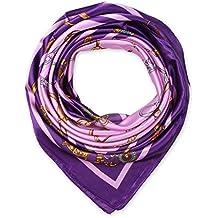 aa1a4518febb corciova élégant femme Carré Large Cheveux Sensation Satin en soie écharpe  foulard ...