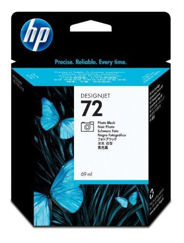 HP C9397A - 72 Fotoschwarz DesignJet Tintenpatrone, 69 ml 72 69 ML Photo Black Ink CART