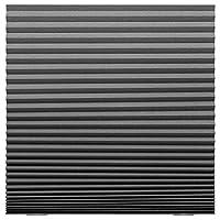 ايكيا بوليستر نمط لون موحد,رمادي - ستائر نوافذ رأسية و جانبية