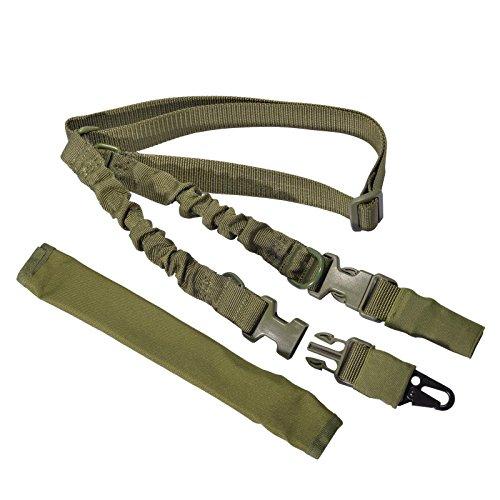 Taktisches Gewehr Sling 1 oder 2 Punkt gewehrriemen bügel Einstellbares Gun Gurt mit schnellen Stahlhaken und abnehmbar Schulterpolster für die Jagd