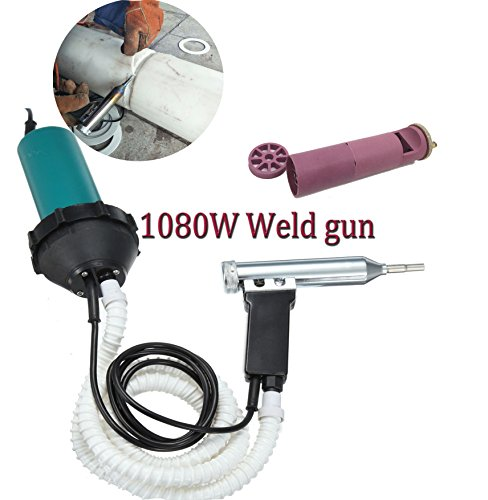 Beyondlife 1080 Split Plastic Schweißen Hitze Heizung Gun Torch Heißluftpistole PVC Schweißer Maschine ssTool, mit 1,5 Meter Pferd (leicht, flexibel)