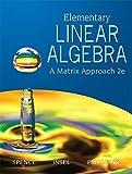 Elementary Linear Algebra (Classic Version) (Pearson Modern Classics)