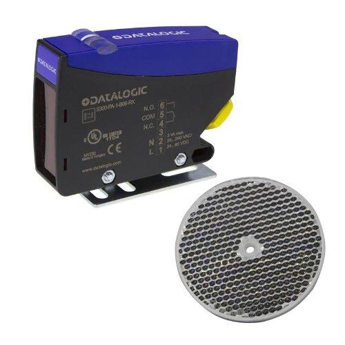 Datalogic s300-pa-1-b06-rx Kunststoff schwarz, blau Sensor Lichtschranke