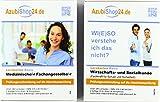 AzubiShop24.de Kombi-Paket Lernkarten Fachkraft für Schutz und Sicherheit: Erfolgreiche Prüfungsvorbereitung auf die Abschlussprüfung