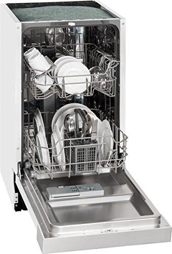 Exquisit EGSP 1009 E/B Spülmaschine, inox