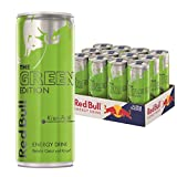 Red Bull Energy Drink Green Edition mit Kiwi - Apfel Geschmack, 12er Pack (12 x 250 ml)