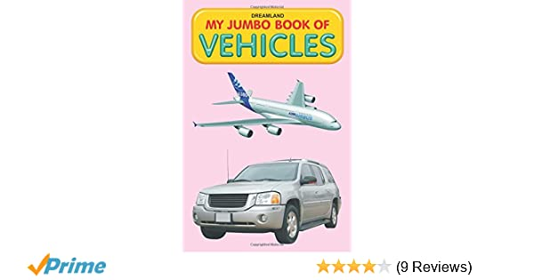 Buy Vehicles (My Jumbo Books) Book Online at Low Prices in